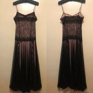 Betsey Johnson Vintage Black Label Evening Gown